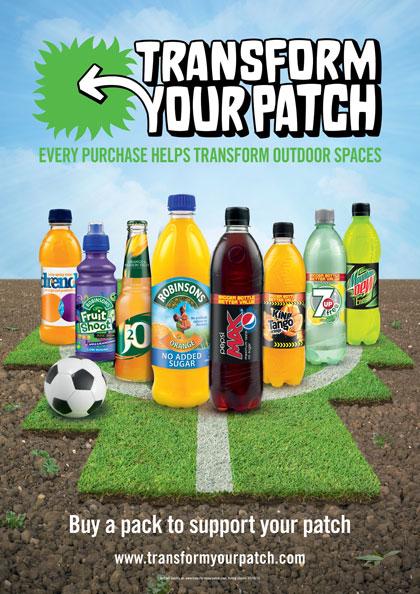 Britvic and PepsiCo UK unveil 'Transform Your Patch' campaign