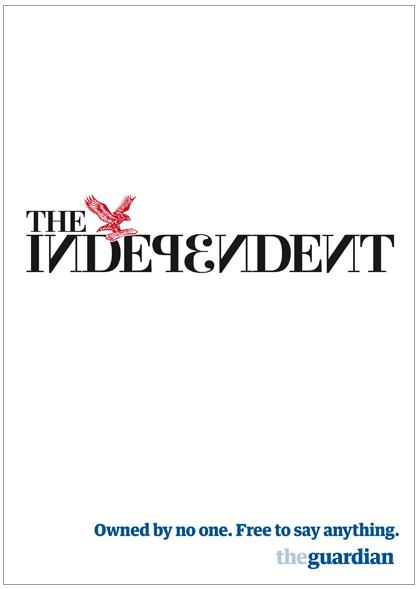 Guardian ad by Wieden & Kennedy