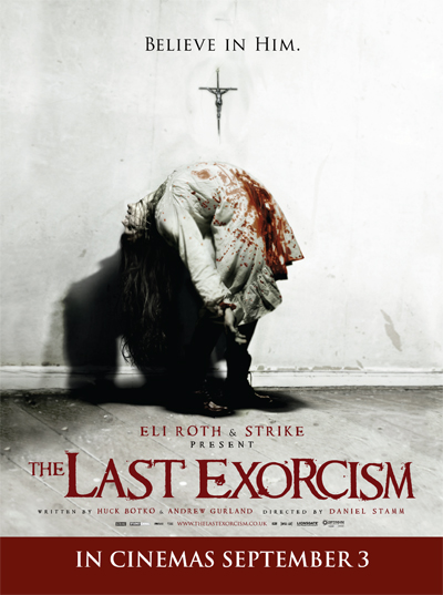 A poster for the Eli Roth film 'The Last Exorcist' has been damned by 77 members of the public