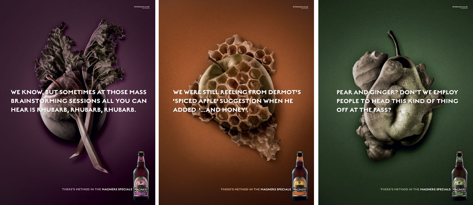 Magners Specials unveils augmented print ad