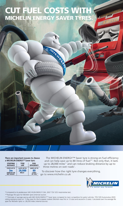 Michelin kicks off global ad campaign by TBWA
