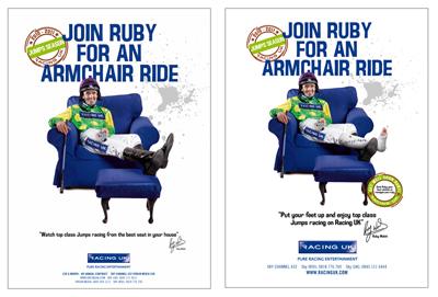 Racing UK fits campaign around jockey Ruby Walsh's injury