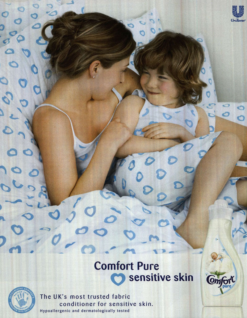 Unilever's Comfort ad banned after P&G complaint