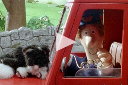 Postman Pat Specsavers