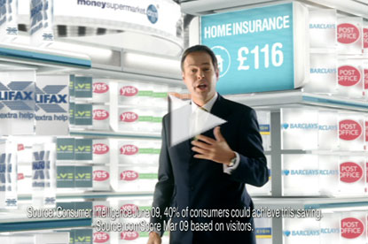 Peter Jones MoneySupermarket advert