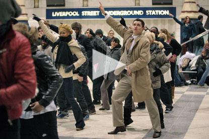 T-Mobile 'dance' by Saatchi & Saatchi