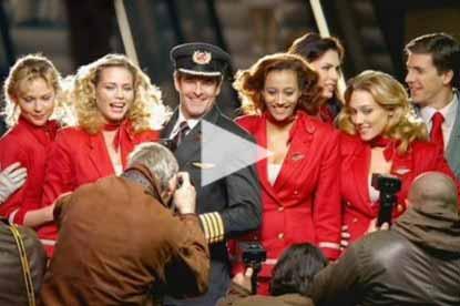 Virgin Atlantic love at first flight ad
