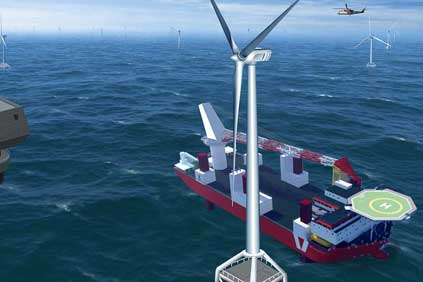 Clipper Marine's Britannia turbine will be based on the Liberty's design