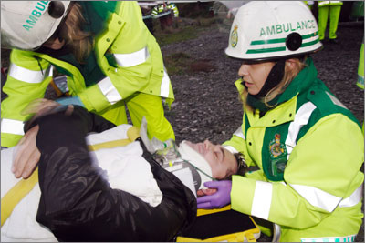BASICs doctors assist ambulance services, as well as providing medical services at other crowd events (SPL)