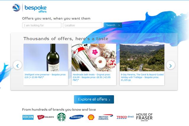 Bespoke Offers app