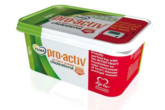 Flora pro.activ BHF promotional pack