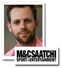 Jamie Wynne-Morgan, managing director, M&C Saatchi Sport and Entertainment