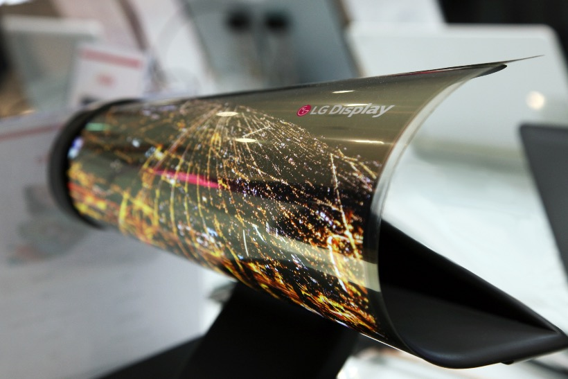 LG OLED rollable screen