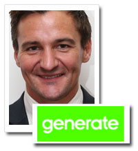 Rupert Pratt, managing director, Generate