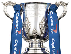 The Capital One Cup trophy
