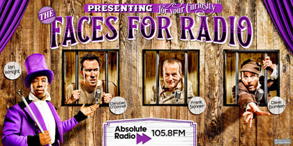 Absolute Radio updates Faces For Radio campaign