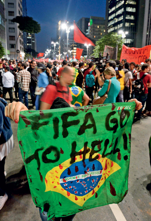 Brazil pre-World Cup protests