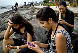 Mobile use in India