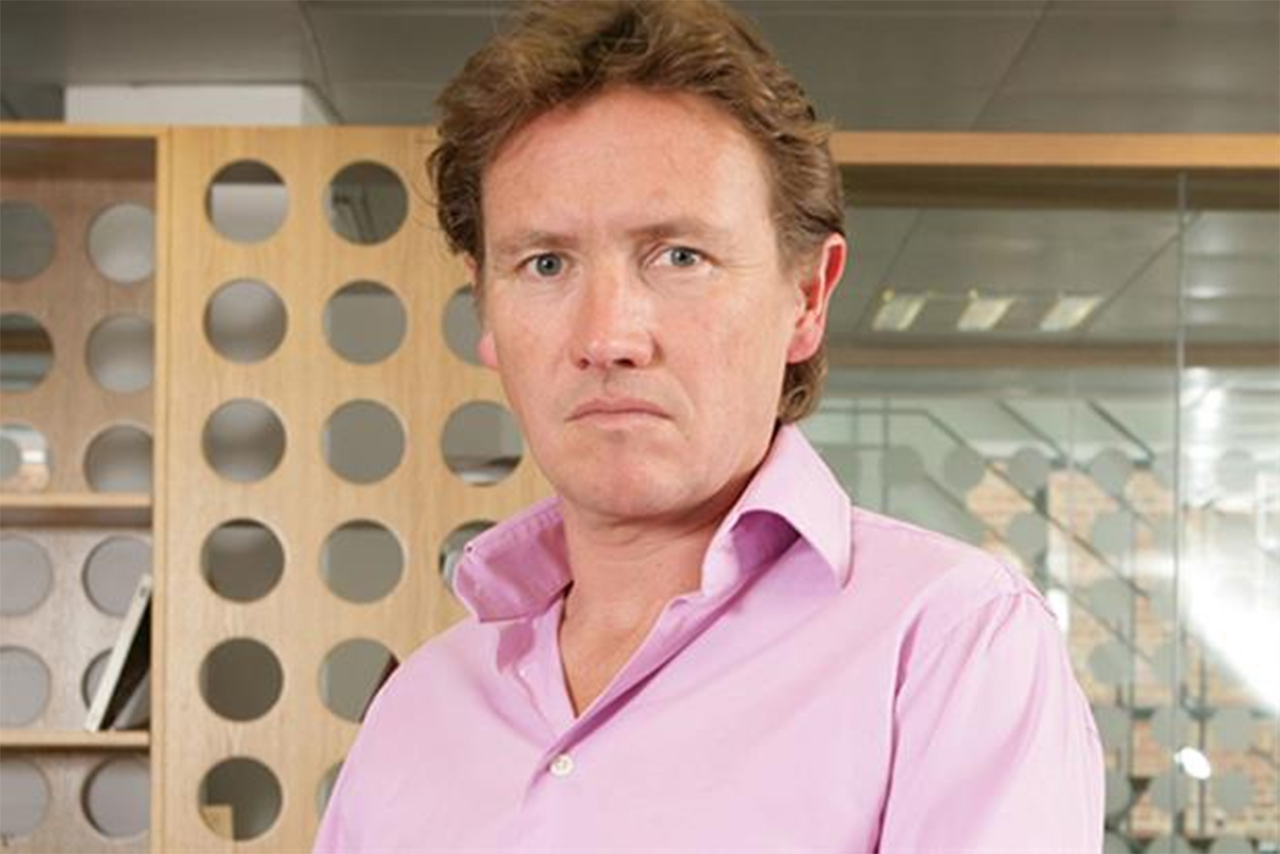 Johnny Hornby, founder and chief executive of The & Partnership