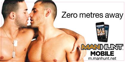 Manhunt: dating ad escapes ban