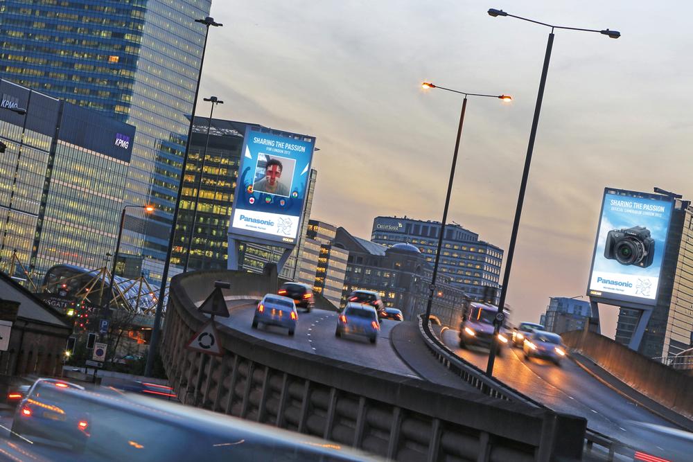 Panasonic 'sharing the passion' ad