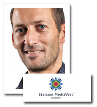 Rupert Britton, content strategy director at Liquid Thread, Starcom MediaVest Group