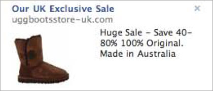 ASA bans '100% Original' Ugg ad
