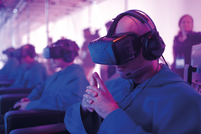 virtual reality tested at C2 Montreal