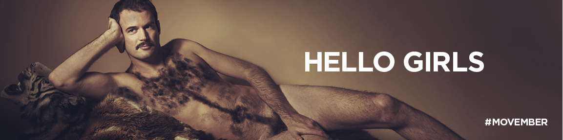 Movember: has kicked off its 2014 activity with 'Hello Girls' billboard campaign