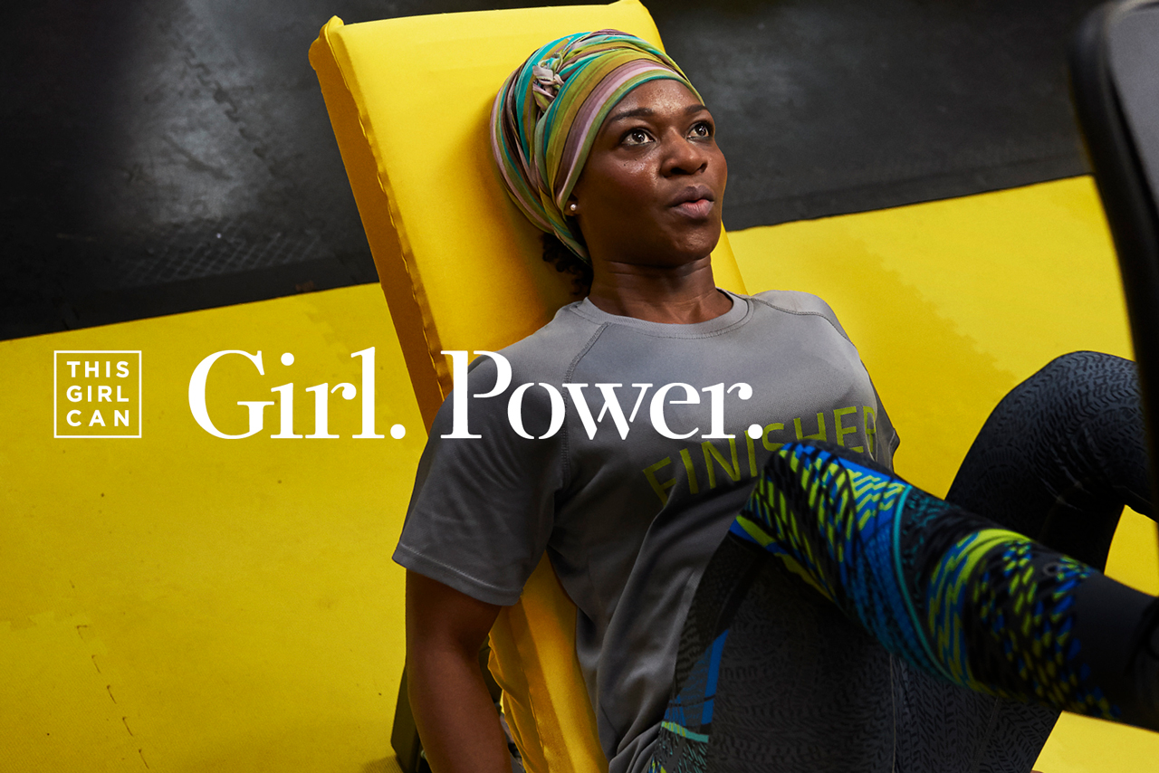 Sport England: 'This girl can' campaign