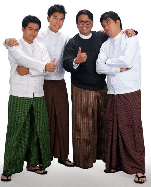 (from left) The Blink team: Alexander Aung, Erik Oo, Stephen Kyaw and Michael Myo Swe