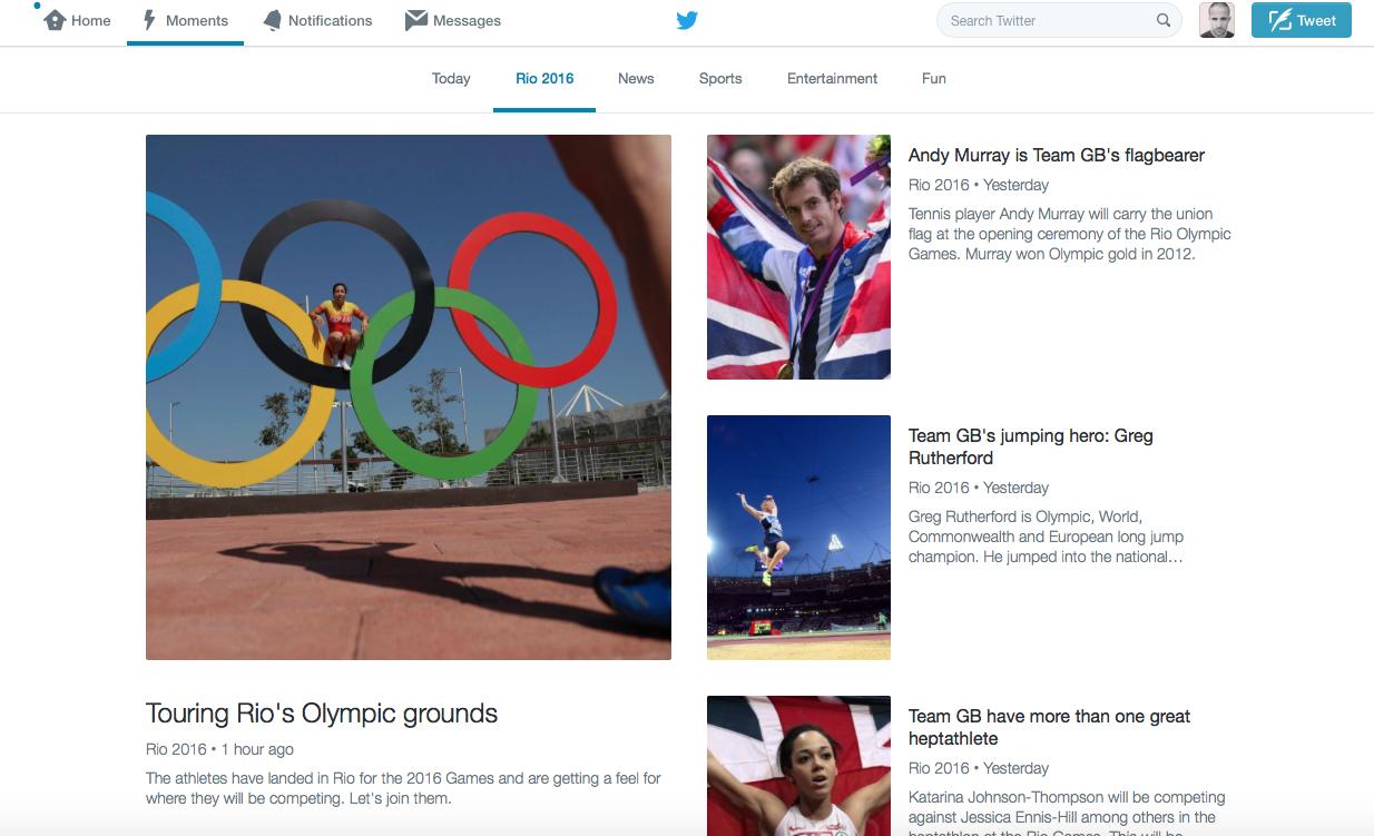 Rio 2016 Moments