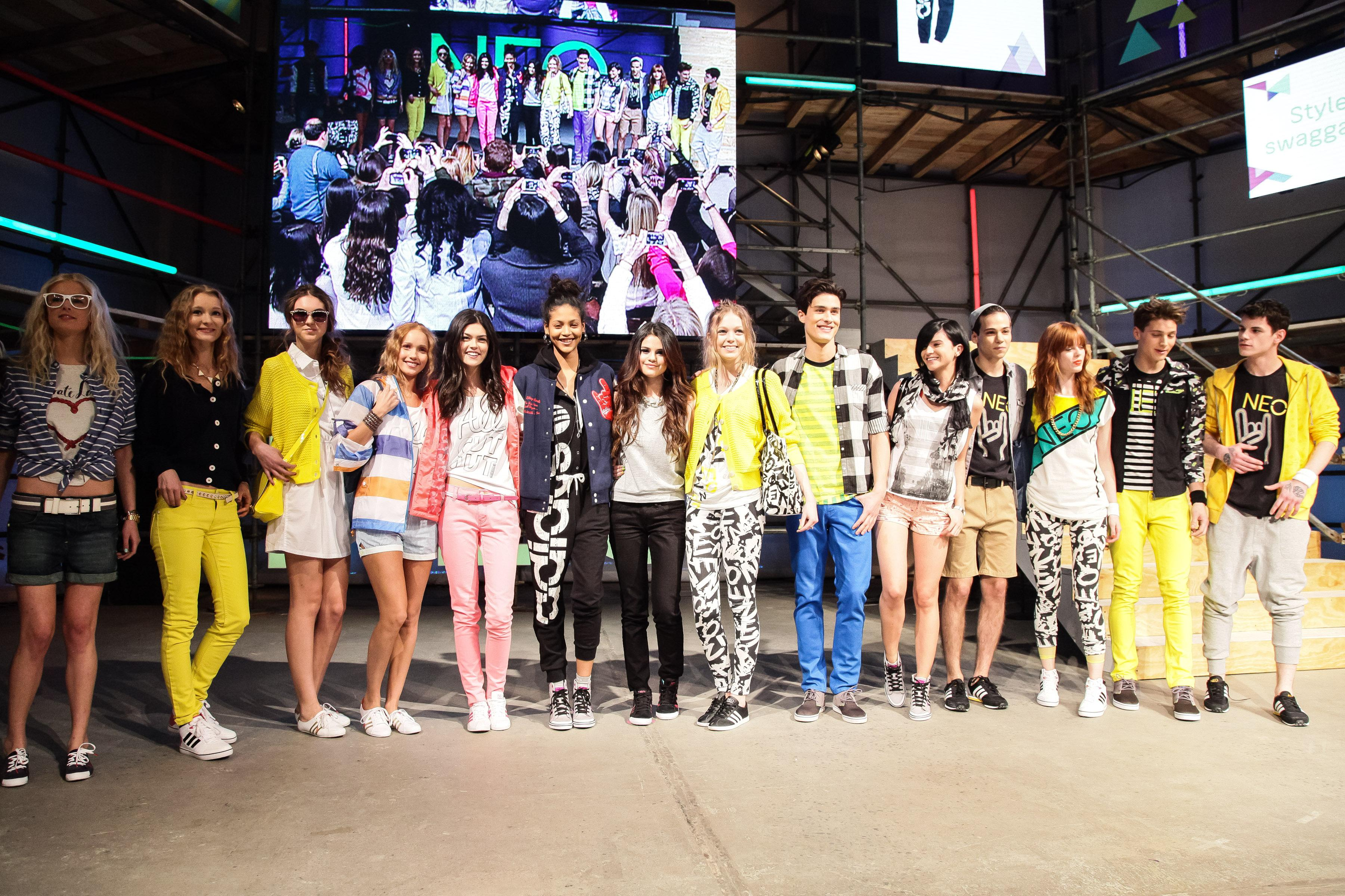 Rule the Runway with adidas NEO Label