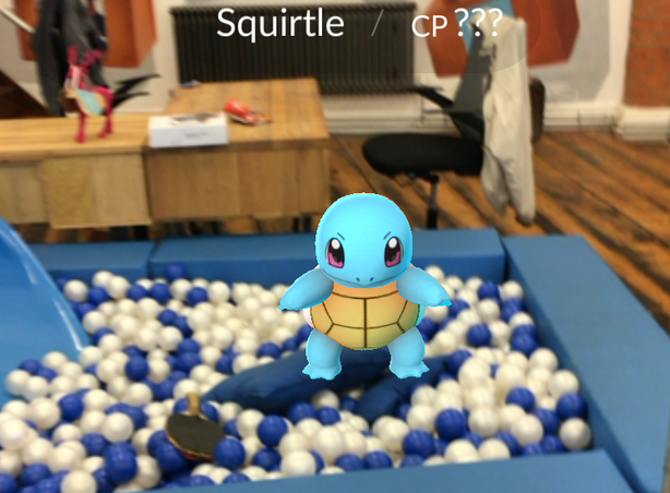 APokemon invades the Social Chain offices