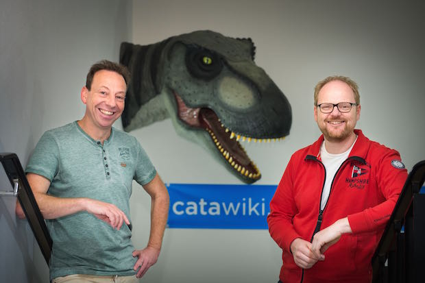Catawiki co-founders René Schoenmakers and Marco Jansen