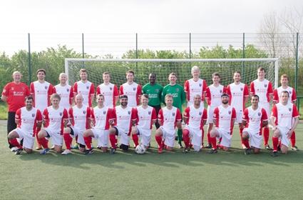 British Medical Football Team (photo: Joshua Gow Photography)