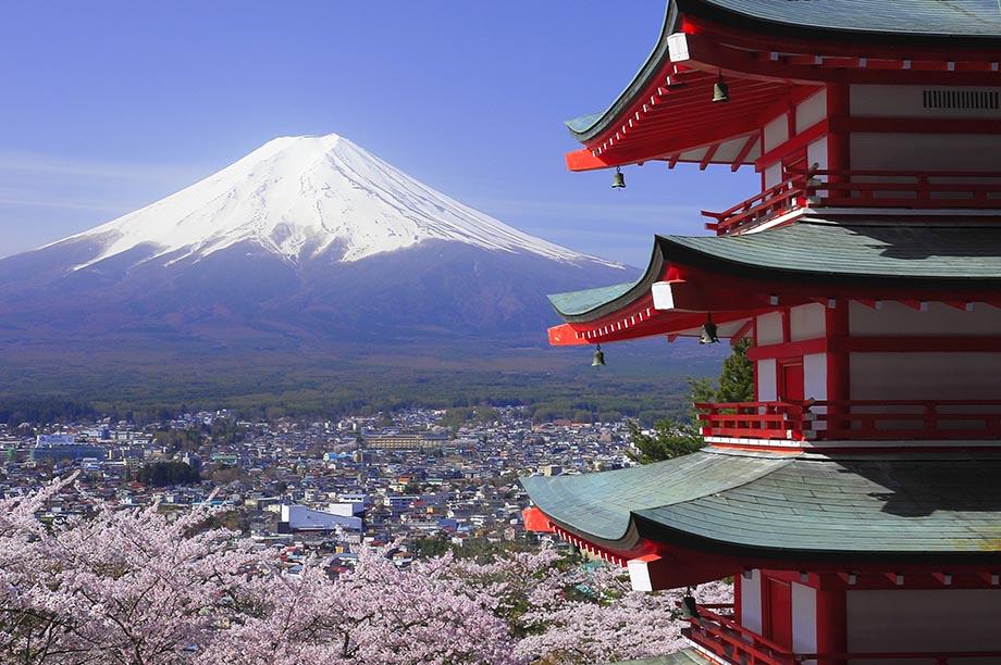 Chureito Pagoda, Mount Fuji