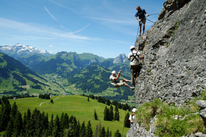 Rock climbing, Switzerland