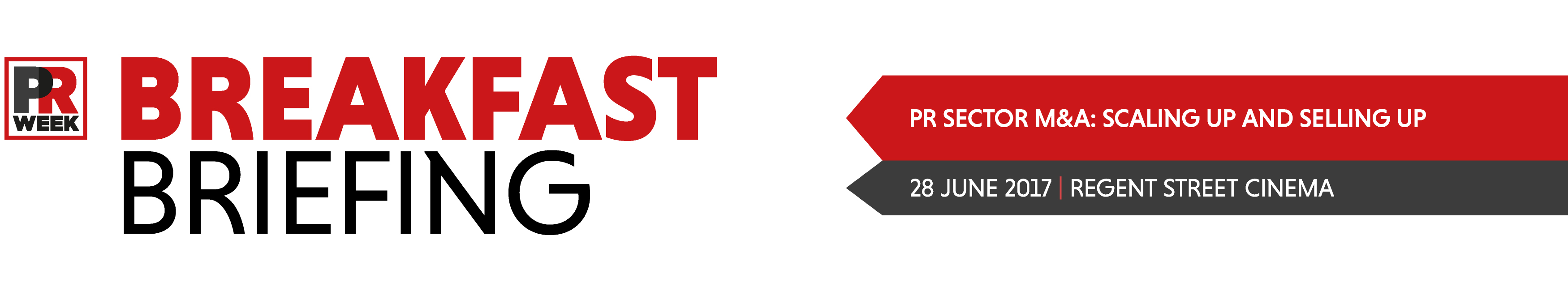 PRWeek Breakfast Briefing - PR Sector M&A