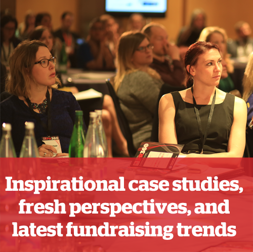 3.	Inspirational case studies, fresh perspectives, and latest fundraising trends