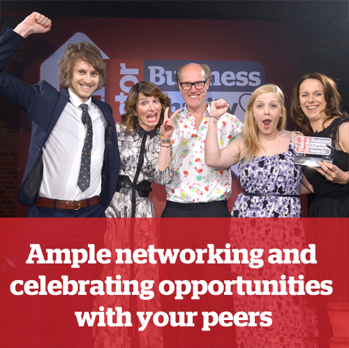 2.Ample networking and celebrating opportunities with your peers