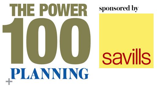 The Planning Power 100 sponsored by Savills