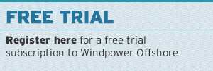 sign up for a free trial to Windpower Offshore
