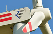 RREpower 6m 6.15MW offshore wind turbine