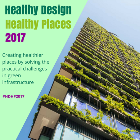 Healthy Design Healthy Places advert
