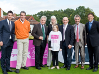 Jamie Redknapp, Alan Hansen, Steve Rider, Barry McGuigan, Eddie Jordan and Mark Ramprakash for Clic Sargent