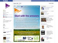 Start's Facebook page