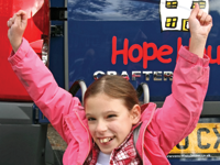 County beneficiary: Hope Hospice