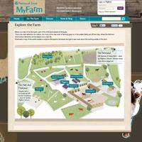 National Trust's MyFarm website