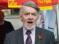 Paul Flynn, Labour MP for Newport West